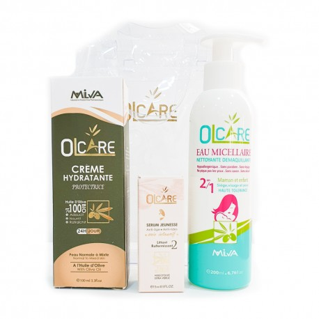 Pack hydratation -anti âge de OLCAIRE / HYDRACARE