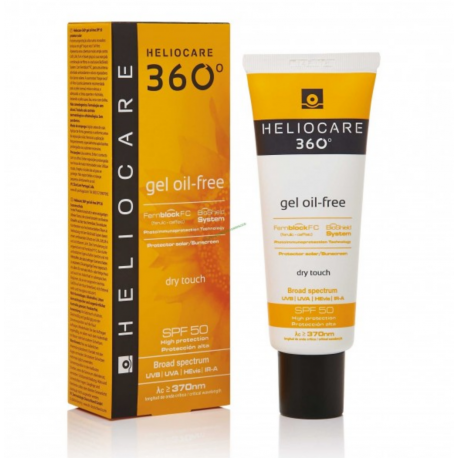 HELIOCARE : Gel oil-free 360° dry touch SPF 50 50 ml