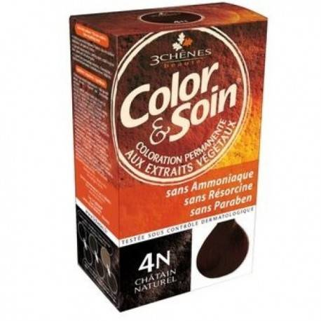 Coloration CHATAIN NATUREL 4N