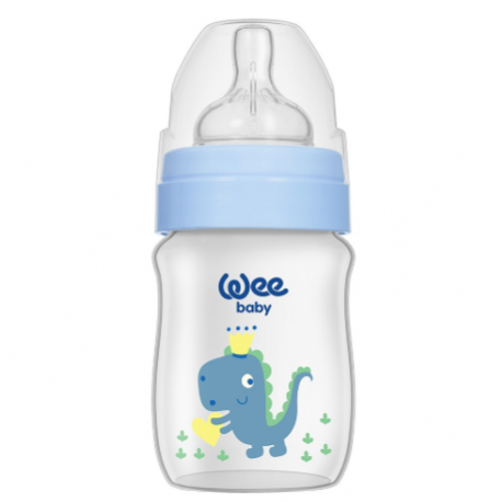 WEE BIBERON LARGE EN PLASTIQUE 250ML