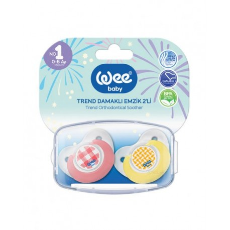WEE SUCETTE SILICONE N2 6-18M