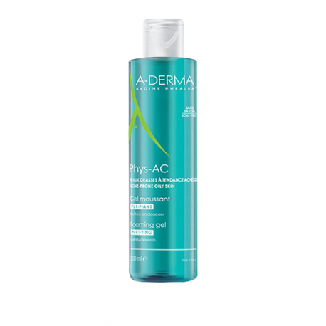 ADERMA GEL MOUSSANT PURIFIANT PHYS-AC 200ML