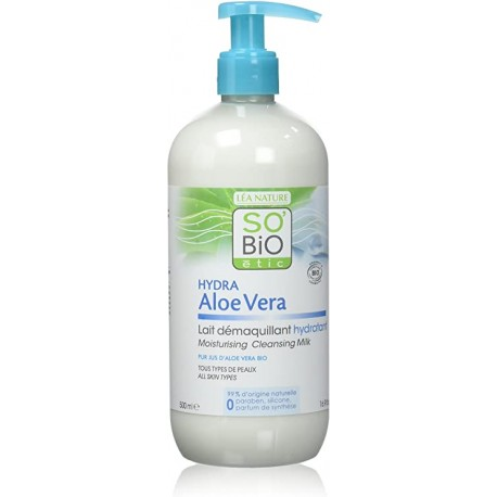 SO BIO LAIT DÉMAQUILLANT HYDRATANT 500ML