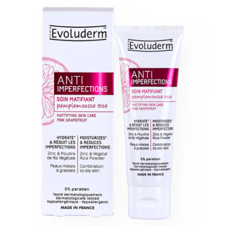 EVOLUDERM SOIN MATIFIANT ANTI IMPERFECTIONS 50ML