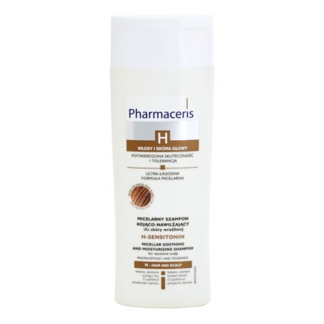 SHAMPOOING MICELLAIRE APAISANT ET HYDRATANT PHARMACERIS 250ML