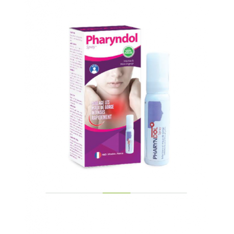 PHARYNDOL INFECTION -MAUX DE GORGE ADULTE