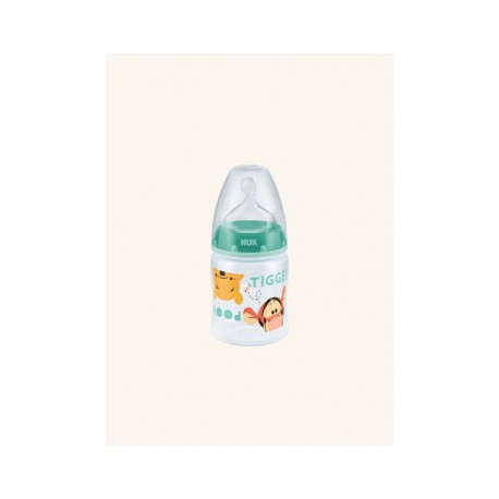 NUK BIBERON FIRST CHOICE DISNEY EN PLASTIQUE 150 ML, 0-6M