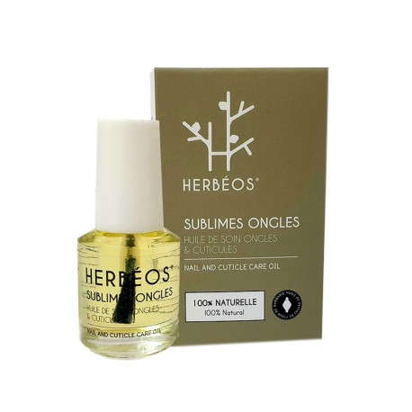 SUBLIMES ONGLES HUILE SOIN ONGLES/ CUTUCULES HERBEOS 10 ML