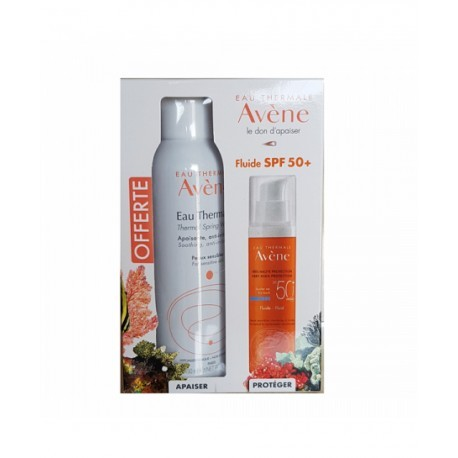 FLUIDE 50+ &EAU THERMALE 150ML OFFERTE