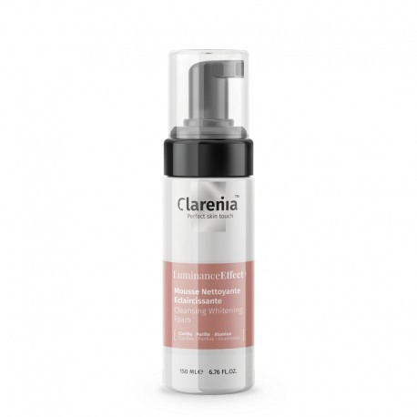 LUMINANCE EFFECT+MOUSSE NETTOYANTE ECLAIRCISSANTE CLARENIA 150ML