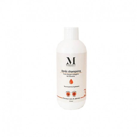 MAWLETY APRES SHAMPOING CHEVEUX SEC SANS SULFATE