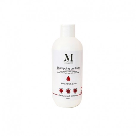 MAWLETY SHAMPOING CHEVEUX GRAS & PELLICULES SANS SULFATE 300ML