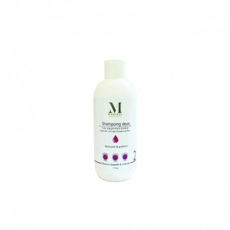 SHAMPOING POUR CHEVEUX BOUCLE ET ONDULE MAWLETY 300ML