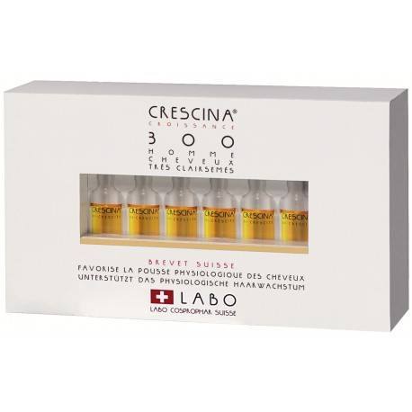 Repousse Cheveux clairsemés CRESCINA RE-GROWTH 500 HOMME
