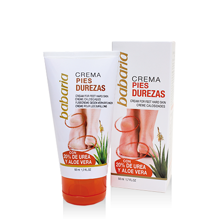 BABARIA CREME PIED CORNES ANTI DURILLONS 50ML