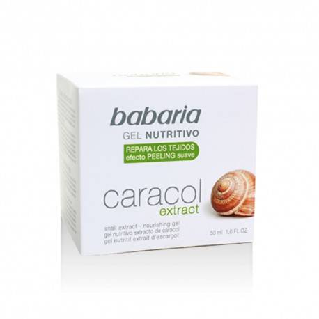 BABARIA GEL CONCENTRE A LA BAVE D'ESCARGOT 50ML
