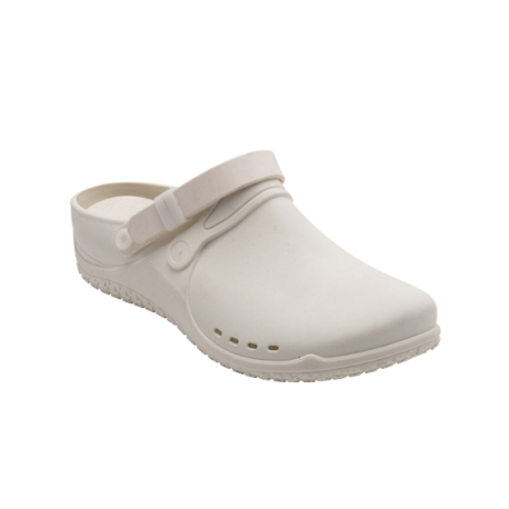 Scholl Clog Progress Blanc