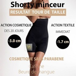 Golden Line Sculpt et Slim Shorty S/M NOIR FEMME