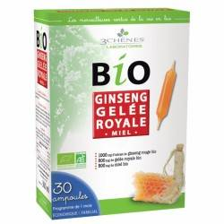 BIO GINSENG GELEE ROYALE - 30 AMPOULES