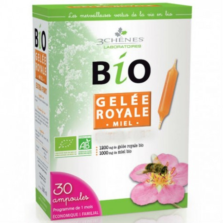BIO GELEE ROYALE - 30 AMPOULES
