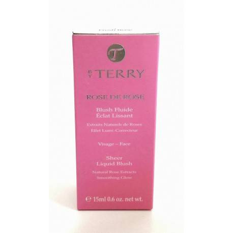 Blush Fluide Eclat Lissant Rose de Rose by TERRY