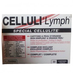 Celluli'Lymph Anti-cellulite 30 comprimés