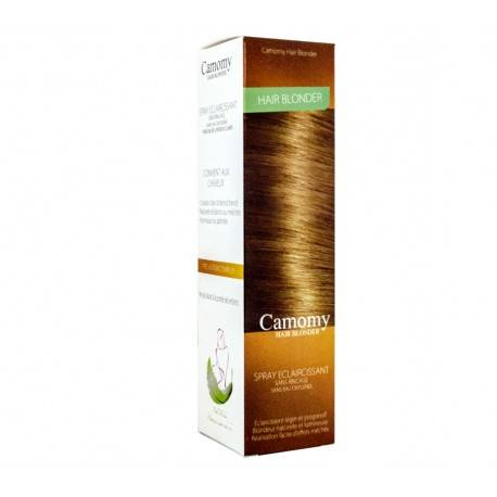 Spray éclaircissant sans rinçage (100ml) Camomy Hair Blonder
