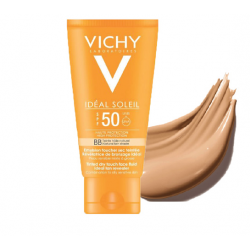 Vichy Ideal Soleil Emulsion Solaire Anti-Brillance SPF50 Toucher Sec 50 ml