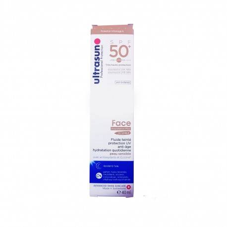 Ultrasun Face foundation plus 01 ivory anti age spf50+
