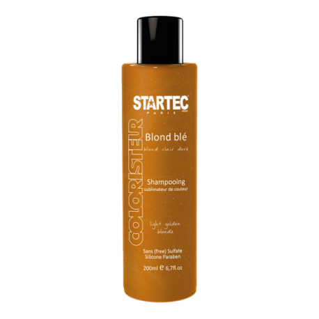 Startec Paris Shampoing colorant blond doré – Blond blé 200ml