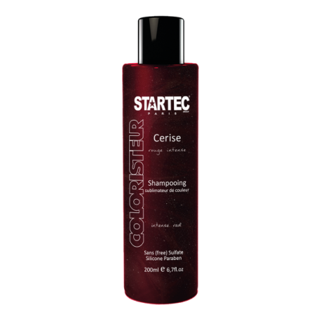 Startec Paris Shampoing colorant rouge intense – Cerise 200ml