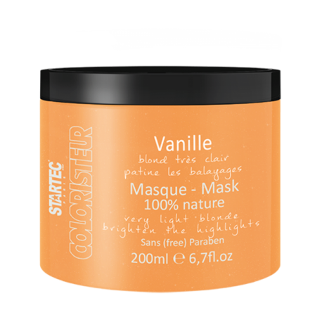 Startec Paris Masque colorant blond très clair – Vanille 200ML