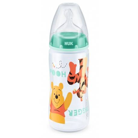 NUK BIBERON FIRST CHOICE + TIGER 300ML (0-6M)