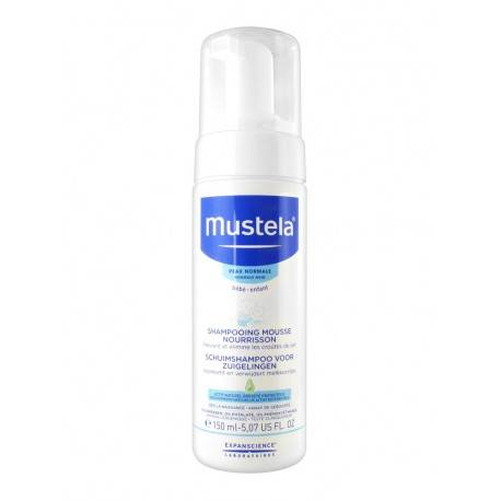 MUSTELA shampooing mousse nourissant 150ml