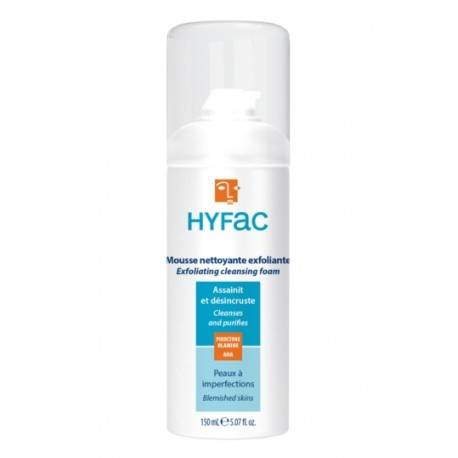HYFAC MOUSSE NETTOYANTE EXFOLIANTE (150ML)