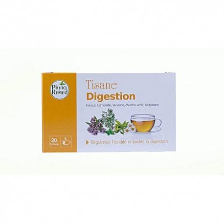 PHYTOREMED TISANE DIGESTION 20 SACHETS