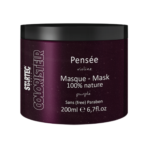 Startec Paris Masque colorant violine – Pensée 200ml