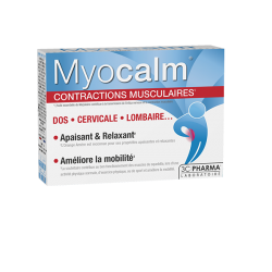 MYOCALM CONTRACTIONS MUSCULAIRES 3 CHENES