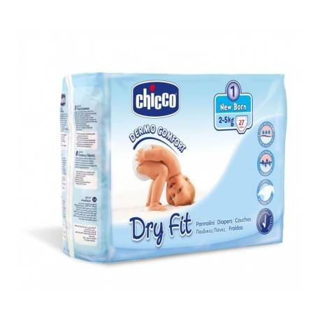 CHICCO COUCHE NEW BORN 2-5KG 27 PCS