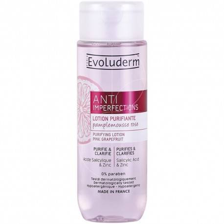 EVOLUDERM - LOTION PURIFIANTE ANTI-IMPERFECTIONS - 200ML