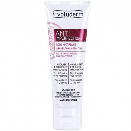 EVOLUDERM - SOIN MATIFIANT ANTI-IMPERFECTIONS - 50ML