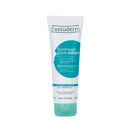 EVOLUDERM GOMMAGE PIEDS LISSANT 125ML