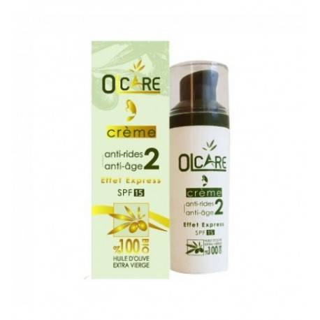 OLCARE CRÈME ANTI AGE EFFET EXPRESS SPF15