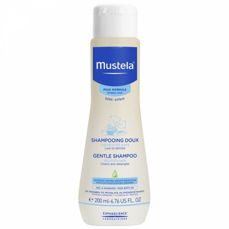 MUSTELA BEBE SHAMPOOING DOUX CHEVEUX DELICATS PEAUX NORMALES 200ML