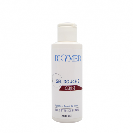 BIOMER GEL DOUCHE CERISE 200ML